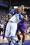 Uk freshman forward Nerlens Noel pulls down a rebound during the first half of the men's basketball game vs. LSU at Rupp Arena on Saturday, January 26, 2013, in Lexington, Ky. Photo by Kalyn Bradford | Staff