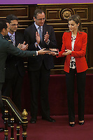 Queen Letizia of Spain at Rare Diseases World Day