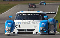 21 June 2009: The #01 Lexus Riley of Scott Pruett and Memo Rojas races to victory in the EMCO Gears Road Racing Classic at Mid-Ohio Spotts Car Course ini Lexington, OH.
