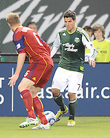 Portland Timbers vs the Real Salt Lake during the MLS competition at Jeld-Wen Field, in Portland Oregon, April 30, 2011.  The Timbers defeated Real Salt Lake 1-0.