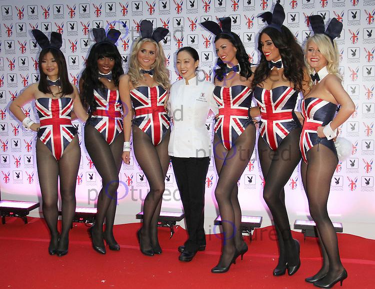 Judy Joo; Playboy Bunnies Playboy Club London Gala Launch Party ...