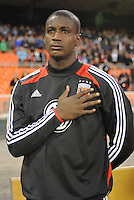 D.C. United goalkeeper Bill Hamid (28) D.C. United tied The Montreal Impact 1-1, at RFK Stadium, Wednesday April 18 , 2012.