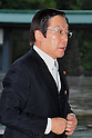 September 2, 2011, Tokyo, Japan - Michihiko Kano, minister of Agriculture, Forestry and Fisheries, arrives for an attestation ceremony before Emperor Akihito at the Imperial Palace in Tokyo on Friday, September 2, 2011. (Photo by Natsuki Sakai/AFLO) [3615] -mis-