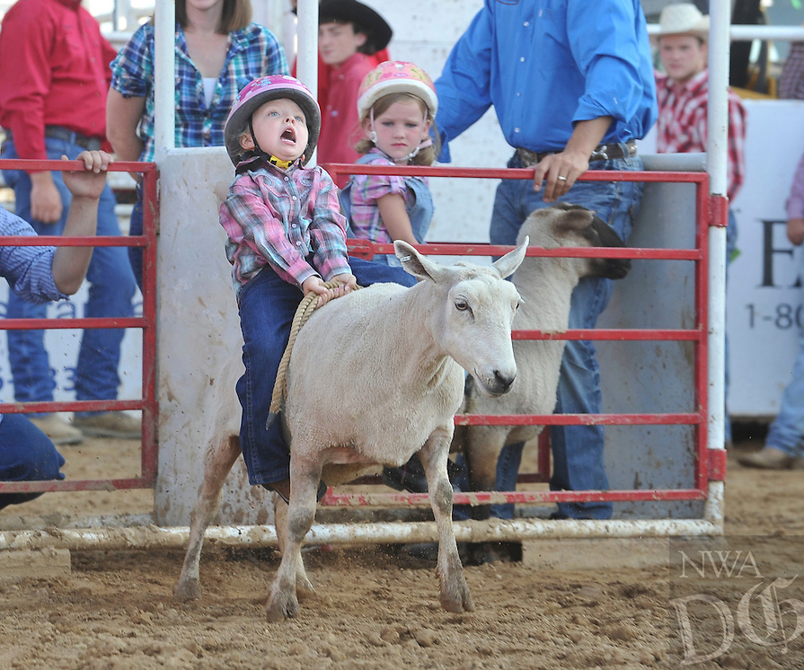 NWA Democrat-Gazette/MICHAEL WOODS --07/04/2015--w@NWAMICHAELW...  Photos from the final day of the 71st annual Rodeo of the Ozarks in Springdale.