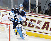 Shawn Sirman (Maine - 33) replaced Sullivan 7:13 into the third period making six saves on six shots. - The Boston College Eagles defeated the visiting University of Maine Black Bears 4-0 on Friday, November 19, 2010, at Conte Forum in Chestnut Hill, Massachusetts.