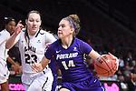 Portland 1516 BasketballW 1stRound vs LMU