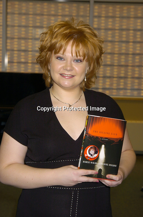 "Kathy Brier, who plays Marci Walsh on One Life to Live on ABC at a Book signing of ""The Killing Club"" by Marcie Walsh and Michael Malone of One Life To Live on February 16, 2005 at Barnes and Nobles in the Lincoln Triangle. ..Photo by Robin Platzer, Twin Images"