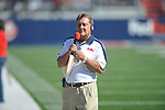 Ole Miss sideline reporter Stan Sandroni vs. Arkansas at Vaught-Hemingway Stadium in Oxford, Miss. on Saturday, October 22, 2011. .