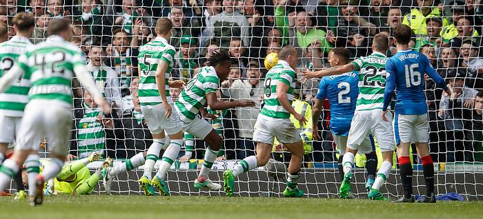 Dedryck Boyata heads in the fourth goal