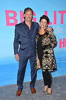 Jeffrey Nordling &amp; Francia Dimase at the premiere for HBO's &quot;Big Little Lies&quot; at the TCL Chinese Theatre, Hollywood. Los Angeles, USA 07 February  2017<br /> Picture: Paul Smith/Featureflash/SilverHub 0208 004 5359 sales@silverhubmedia.com