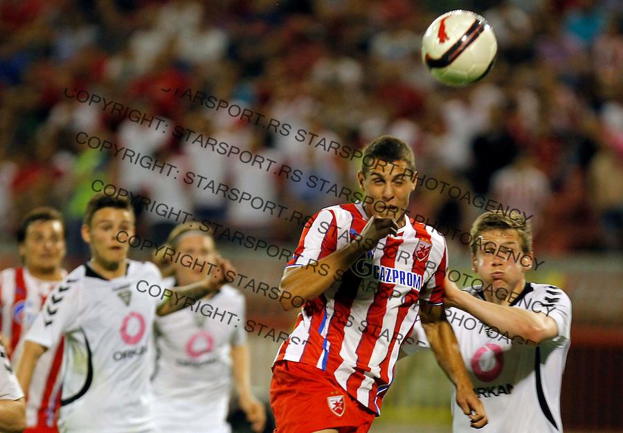 Fudbal UEFA Europa League season 2013-2014<br /> Crvena Zvezda v IBV Iceland<br /> Darko Lazic<br /> Beograd, 18.07.2013.<br /> foto: Srdjan Stevanovic/Starsportphoto &copy;
