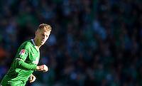FUSSBALL   1. BUNDESLIGA   SAISON 2013/2014   7. SPIELTAG SV Werder Bremen - 1. FC Nuernberg                    29.09.2013 Aaron Hunt (SV Werder Bremen)