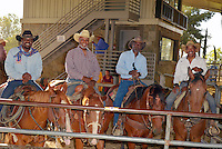 CITY OF INDUSTRY, CA - JULY 16: Reginald T. Dorsey, Glynn Turman, James Pickens Jr., Obba Babatundé attend the 32nd Annual Bill Pickett Invitational Rodeo Rides, Southern California at The Industry Hills Expo Center in the City of Industry on July 16, 2016 in the City of Industry, California. Credit: Koi Sojer/Snap'N U Photos/MediaPunch