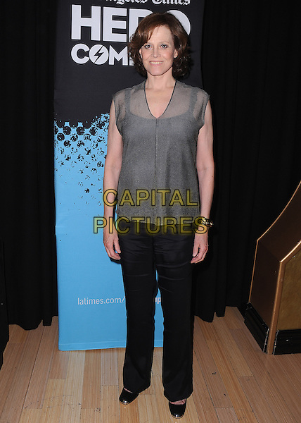 HOLLYWOOD, CA - JUNE 1: Sigourney Weaver at the Los Angeles Times 2014 Hero Complex Film Festival - &quot;Alien / Aliens&quot; at the TCL Chinese 6 on June 1, 2014 in Hollywood, California.  <br /> CAP/MPI/PGSK<br /> &copy;PGSK/MediaPunch/Capital Pictures