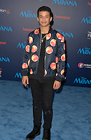 "HOLLYWOOD, CA - NOVEMBER 14: Jordan Fisher attends the AFI FEST 2016 Presented By Audi - Premiere Of Disney's ""Moana"" at the El Capitan Theatre in Hollywood, California on November 14, 2016. Credit: Koi Sojer/Snap'N U Photos/MediaPunch"