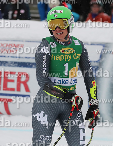 04.12.2016, Lake Louise, USA, FIS Weltcup Ski Alpin, Lake Louise, Super G, Damen, im Bild Johanna Schnarf (ITA) // Johanna Schnarf of Italy reacts after her run of the women's SuperG of the Lake Louise FIS Ski Alpine World Cup at the Lake Louise, United Staates on 2016/12/04. EXPA Pictures &copy; 2016, PhotoCredit: EXPA/ SM<br /> <br /> *****ATTENTION - OUT of GER*****
