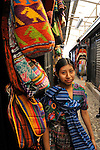 """A colorful market stall in Antigua, Guatemala  during colorful and festive """"Semana Santa"""" (Saint week). A passionate sensory experience that mingles Spanish and Mayan traditions in the week before Easter.  ..Antigua, a colonial town, is a UNESCO World Heritage site."""