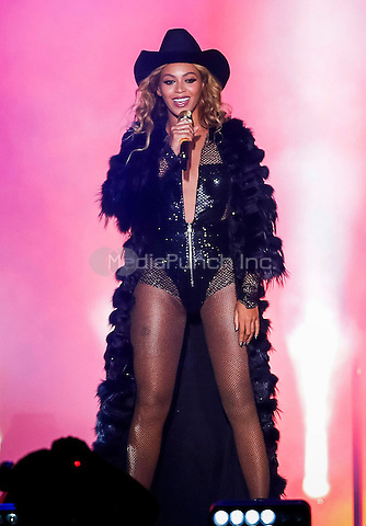 HOUSTON, TX - JULY 18: Beyonce performs on the On The Run Tour at the Minute Maid Park on Friday, July 18, 2014, in Houston, Texas. Credit: PGSprecher/MediaPunch