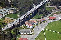 aerial photograph Doyle Drive Presidio of San Francisco