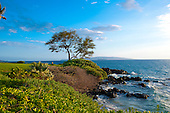 Scenic Wailea Coastal Walk along Maui's south shore resort area