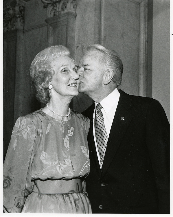 Erma Ora Byrd, pictured with her her husband, Sen. Robert Byrd (D-W.Va.), died March 25, 2006, in her home in McLean, Va., after a long battle with an undisclosed illness. She was 88.