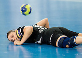 Carmen B. Martin of Krim during handball match between RK Krim Mercator and Gyori Audi ETO KC (HUN) in 3rd Round of Group B of EHF Women's Champions League 2012/13 on October 28, 2012 in Arena Stozice, Ljubljana, Slovenia. Gyori defeated Krim Mercator 31-20. (Photo By Vid Ponikvar / Sportida)