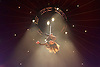 La Soiree<br /> at the La Soiree Spiegeltent, Southbank Centre, London, Great Britain <br /> press photocall<br /> 29th October 2015 <br /> Yammel Rodriguez <br /> aerial acrobatics <br /> <br /> <br /> Photograph by Elliott Franks <br /> Image licensed to Elliott Franks Photography Services