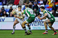 Ian Whitten of Exeter Chiefs in possession. Aviva Premiership match, between London Irish and Exeter Chiefs on February 21, 2016 at the Madejski Stadium in Reading, England. Photo by: Patrick Khachfe / JMP