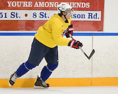 Jeremy Morin (USA - 26) - Team USA practiced at the Agriplace rink on Monday, December 28, 2009, in Saskatoon, Saskatchewan, during the 2010 World Juniors tournament.