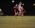 Oxford High vs. Neshoba Central in MHSAA playoff soccer action in Oxford, Miss. on Tuesday, January 22, 2013. Oxford won 3-1.