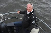 SKÛTSJESILEN: SNEEK: 10-06-2016, Waterpoortrace Sneek, voorzitter Sneker Pan Pier Damstra, ©foto Martin de Jong