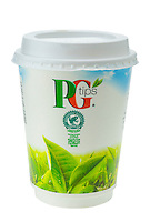 Cup of Take Away PG Tips Tea - Jan 2014.