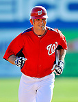 7 March 2011: Washington Nationals' outfielder Rick Ankiel rounds the bases, hitting a 2-run homer during a Spring Training game against the Houston Astros at Space Coast Stadium in Viera, Florida. The Nationals defeated the Astros 14-9 in Grapefruit League action. Mandatory Credit: Ed Wolfstein Photo