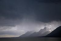 Thunderstorm, Grand Tetons, Jackson Lake, Grand Teton National Park