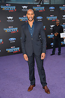 Henry Simmons at the world premiere for &quot;Guardians of the Galaxy Vol. 2&quot; at the Dolby Theatre, Hollywood. <br /> Los Angeles, USA 19 April  2017<br /> Picture: Paul Smith/Featureflash/SilverHub 0208 004 5359 sales@silverhubmedia.com