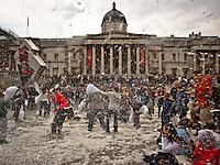 02.04.2011 - Day Of Demonstrations In Trafalgar Square