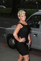 Kerry Katona at The 2013 TRIC Awards Departures at The Great Room The Dorchester Hotel Park Lane London 13 March 2013