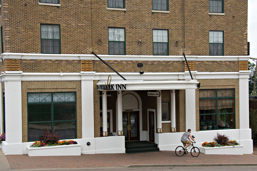 The Landmark Inn in downtown Marquette Michigan.