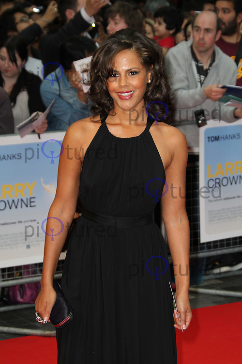 Leonora Crichlow Larry Crowne World Premiere, Westfield Shopping Centre, West London, UK, 06 June 2011:  Contact: Rich@Piqtured.com +44(0)7941 079620 (Picture by Richard Goldschmidt)