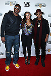 Master P, Cymphonique and Romeo Miller_ at WE TV's Growing Up Hip Hop Premiere Party Held at Haus
