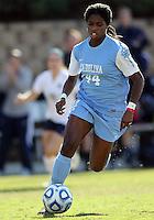 SAN DIEGO, CA - DECEMBER 02, 2012:  Satura Murray (44) of the University of North Carolina during the NCAA 2012 women's college championship match, at Torero Stadium, in San Diego, CA, on Sunday, December 02 2012. Carolina won 4-1.