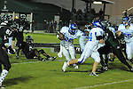 Water Valley's C.J. Jackson (26) runs vs. Mooreville in Mooreville, Miss. on Friday, September 30, 2011. Water Valley won 21-20 in overtime.