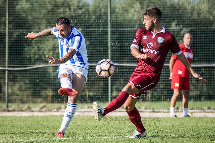 Simone Pepe (Pescara) during the Italian friendly football match San Nicolò vs Pescara (0-3) on September 01, 2016, in San Nicolò (TE), Italy. Photo by iSportFoto.it