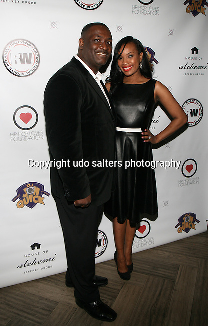 DJ JON QUICK and DANA WHITFIELD At DJ Jon Quick's 5th Annual Beauty and the Beat: Heroines of Excellence Awards Honoring AMBRE ANDERSON, DR. MEENA SINGH,<br /> JESENIA COLLAZO, SHANELLE GABRIEL, <br /> KRYSTAL GARNER, RICHELLE CAREY,<br /> DANA WHITFIELD, SHAWN OUTLER,<br /> TAMEKIA FLOWERS Held at Suite 36, NY