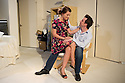 London, UK. 25.06.2014.  MY GIRL 2, by Barry Keeffe, opens at the Old Red Lion theatre pub, from 24th June and runs to Saturday 12th July. Directed by Paul Tomlinson and starring Alexander Neal (as Sam) and Emily Plumtree (as Anita). Photograph © Jane Hobson.