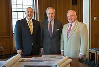 20140429 Provost David Rosowsky, President Tom Sullivan, John Evans
