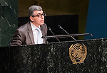 MOROCCO<br /> General Assembly 70th session:  66th plenary meeting<br /> 1. Report of the Credentials Committee (A/70/573 (to be issued)) [item 3 (b)]<br /> 2. Culture of peace [item 16]<br /> (a) Report of the Secretary-General (A/70/373) <br /> (b) Draft resolutions (A/70/L.20 and A/70/L.24 (to be issued))
