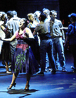 "WSU junior Amber Preston (front) plays the part of Anita in ""West Side Story"" at the 2008 Arts Gala at Wright State University, Saturday, April 5, 2008."
