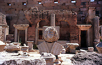 Libia, Leptis Magnia.Considerato il più bel sito romano del Mediterraneo.Foro dei Severi.Libya, Leptis Magna.Considered the best Roman site in the Mediterranean.Forum of Severi
