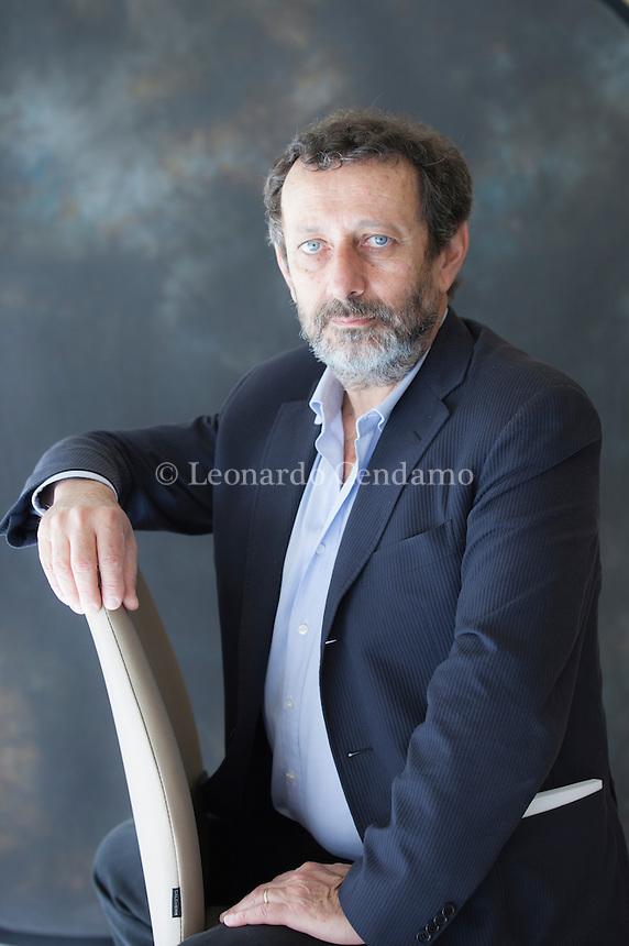 Michele Serra Errante è un giornalista, scrittore, autore televisivo, e umorista italiano. Torino, Salone del Libro 2014. © Leonardo Cendamo